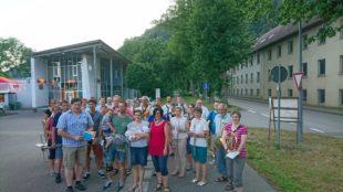 Stadtkapelle Zell gratulierte  Alt und Jung festlich-musikalisch
