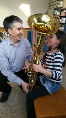Schnuppertag für alle Kinder, die sich für Musik interessieren