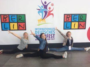 Turnen, feiern, Profis treffen  beim Deutschen Turnfest in Berlin