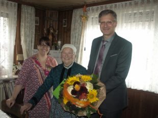 Wägerin Cäcilia Roth betreute 50 Jahre lang die Gemeindewaage