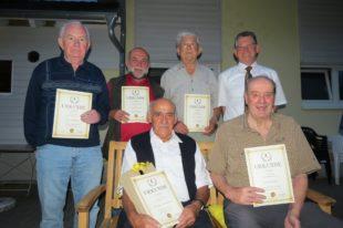 Karl Lehmann für  70 Jahre ZFV geehrt