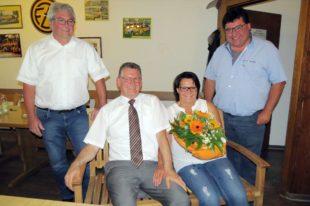 Alfred Harter für 37 Jahre ehrenamtliches Engagement geehrt