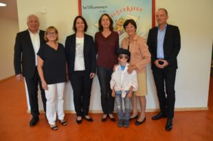 Familienministerin Katarina Barley zu Besuch in der »Fliegerkiste«