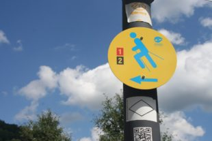 Nordic-Walking-Routen in Nordrach wieder lückenlos ausgeschildert