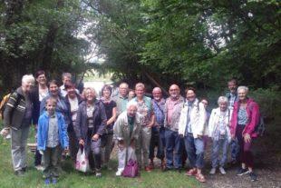 Gesangverein Frohsinn genoss bei seinem Jahresausflug die Natur