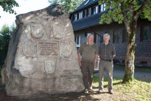 Jagdhornbläsergruppe führte  Sanierungsarbeiten durch