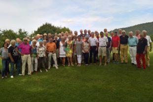 Gelebte Freundschaft auf dem Golfplatz