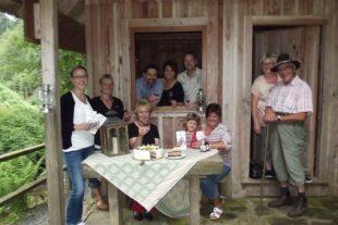 Die Sagengestalt »Moospfaff« geistert wieder in Nordrach umher