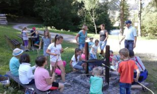 Kindersommer macht mit dem Kneippverein Station am Herrenholz