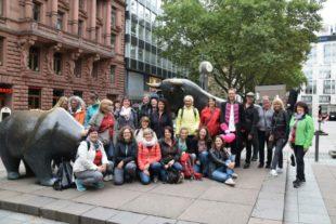 Gitarrenverein Nordrach besuchte die Mainmetropole Frankfurt