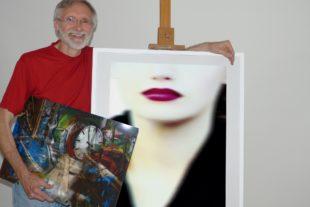 Photo-Painting-Künstler nun in Zell