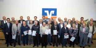 Zell a. H., Biberach und Oberharmersbach sind zusammen seit 220 Jahren Volksbank-Mitglieder