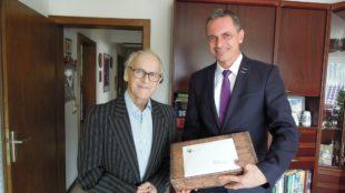 Ludwig Lehmann feierte seinen 80. Geburtstag