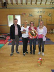 Silvia Glatz hat erfolgreich das Mutter-und-Kind-Turnen aufgebaut