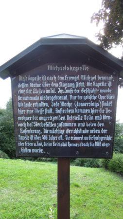 450-jähriges Jubiläum der Michaelskapelle