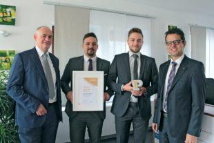 Volksbank Lahr räumt den begehrten PEPE-Award für Social Media ab