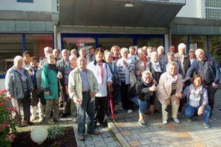 Gemeinsam machten die Senioren Ferien im Bayrischen Wald