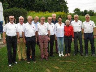 Gröbernhof-Senioren landen im Breisgauer Rebenland im Mittelfeld