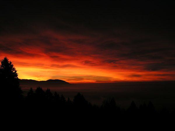 30 Kilometer Erlebniswandern bis zum Sonnenaufgang