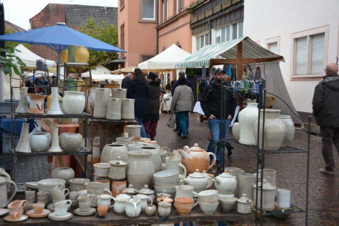 Am 11. & 12. November ist Töpfermarkt - Töpfer und Kunsthandwerker können noch teilnehmen