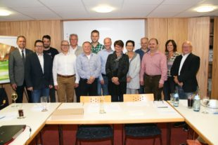 Andrea Giesler, Paul Lehmann und Jutta Schmid leiten den Handel- und Gewerbeverein Zell