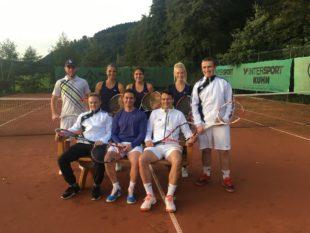Mixedteam des Tennisclubs Biberach macht Aufstieg perfekt