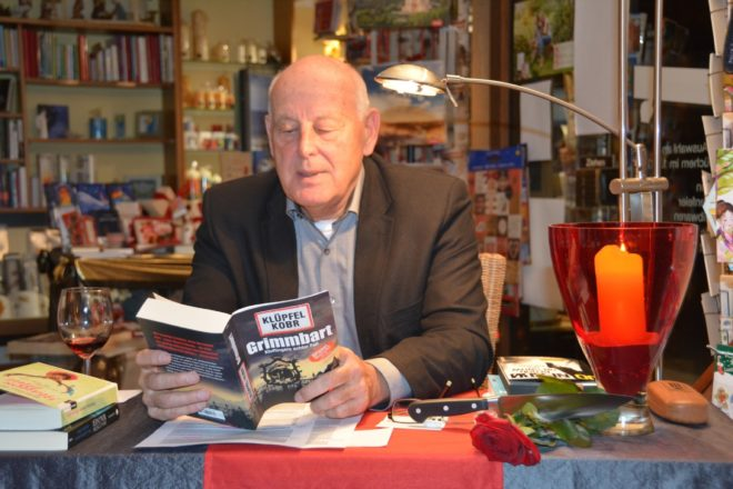 Krimiabend mit Bernd Antes bei Buchhandlung Kopf
