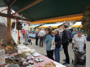 Herbstmarkt der Nordracher Landfrauen war gut besucht