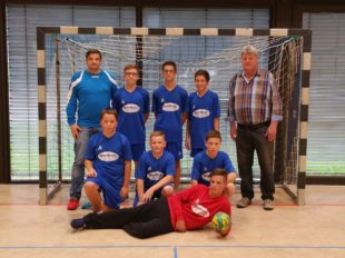 Trikotspende des Jugendfördervereins für die Handball-C-Jugend
