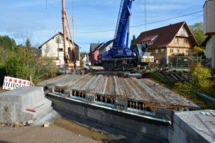 Bauarbeiten kommen planmäßig voran