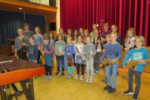 Musikschüler zeigen ihr Können