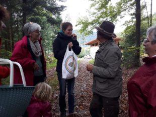 Erfolgreich auf Pilzetour in Zuwald