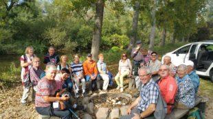 Durch die Wildnis in den Rheinauen