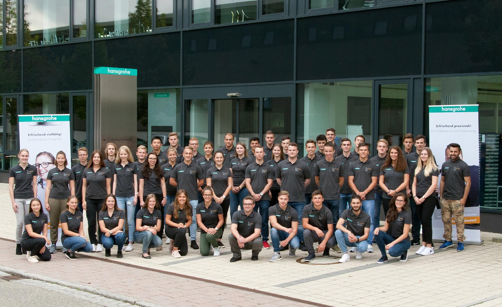 2017-9-29-Schiltach-Hansgrohe-Start berufliche Ausbildung ...