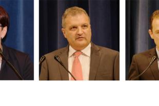 Dominika Hättig, Aleksander Jotov und Richard Weith präsentierten sich