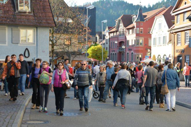 Einkaufssonntag in Zell am Harmersbach