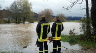 Einsatz für die Feuerwehren  nach Starkregen am Sonntag