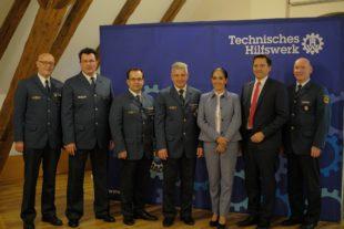 THW verleiht Ehrenzeichen in Bronze an Ortsbeauftragten Michael Holderer