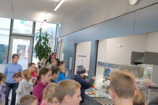 Mensa im Ritter von Buß-Bildungszentrum wird gut angenommen