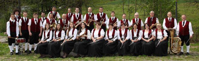 Kirchenkonzert der Trachtenkapelle Nordrach