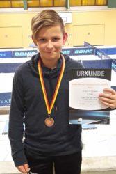Bronze für Max Huber bei Südbadischen Meisterschaften