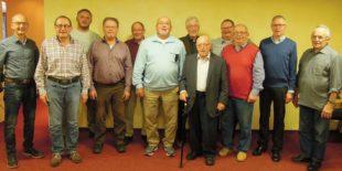 Friedrich Riehle und Werner Schätzle sind seit 70 Jahren dabei
