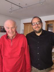 FVB gratulierte Manfred Hug  zum 70. Geburtstag
