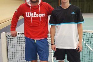 Hochklassiges Tennis bei der 1. Teamgeist-Halloween-Trophy
