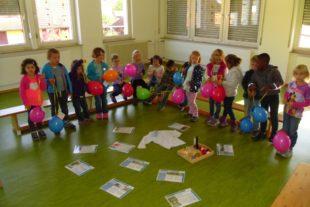 Kindergarten-Kinder von St. Blasius erweckten den »Flaschengeist«