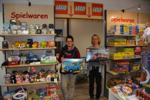 Eröffnung unserer erweiterten Lego-Abteilung
