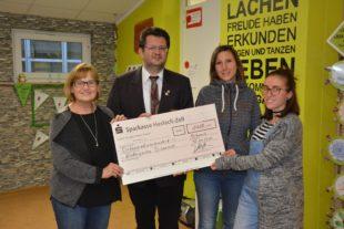 1.400 Euro für die drei Kindergärten