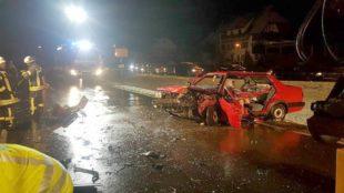 Unfall mit zwei Schwerverletzten