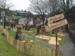 Hademar Adventsdorf öffnet am Sonntag im Kurpark seine Pforten