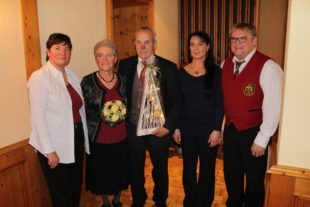 August und Paula Haas feierten ihr goldenes Ehejubiläum